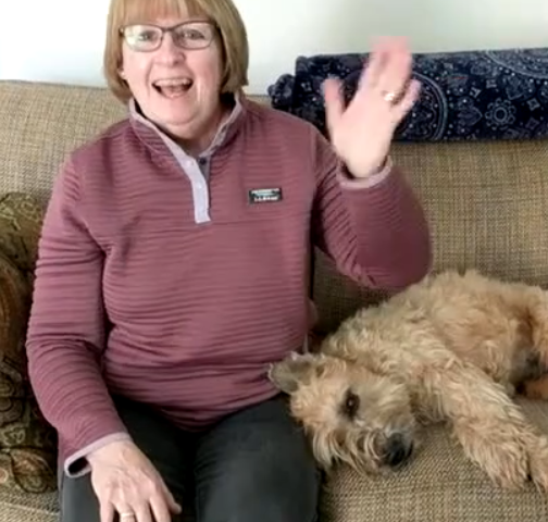 Video: Miss Rose leads Tommy Thumb is Up sing-along