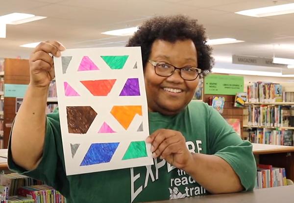 Video: Preschooler Line Art