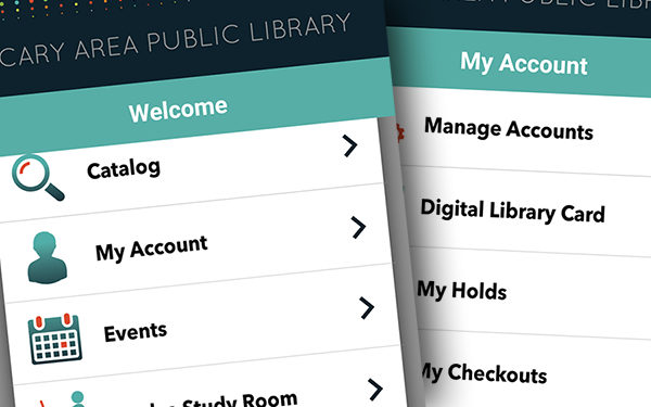 New Library mobile app
