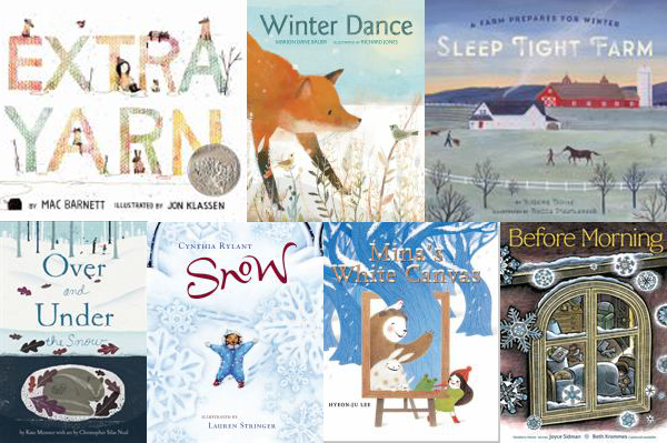 Help for readers: Cozy winter easy picture books