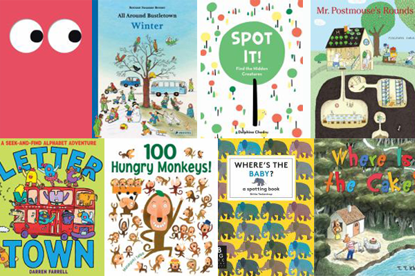 Help for readers: Look & Find Books for preschoolers