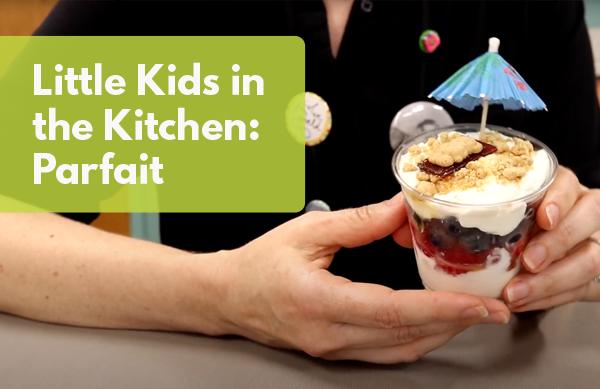 Video: Little Kids in the Kitchen: Parfait