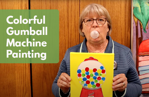 Video: Colorful Gumball Machine