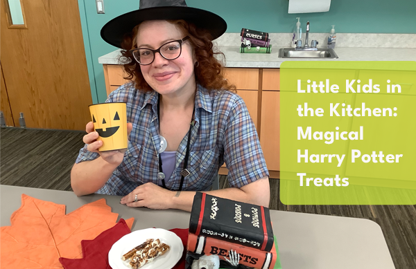 Video: Little Kids in the Kitchen- Magical Harry Potter Treats